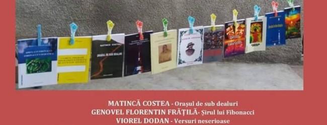 """Lansarea cărților din cadrul proiectului """"Scriitori râmniceni"""" – duminică, 21 august, ora 13"""