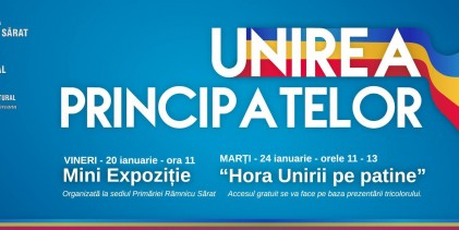 Unirea Principatelor Române celebrata la Ramnicu Sarat