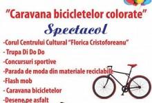 Caravana bicicletelor colorate