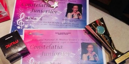 CONSTELATIA JUNIORILOR 2017 TROFEUL GRUPEI & Premiul III
