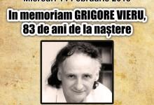 Comemorarea poetului Grigore Vieru