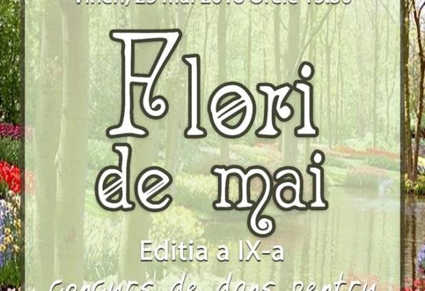 FESTIVALUL FLORI DE MAI Ed. a IX – a, concurs de dans pentru prescoalri si clasele I-IV