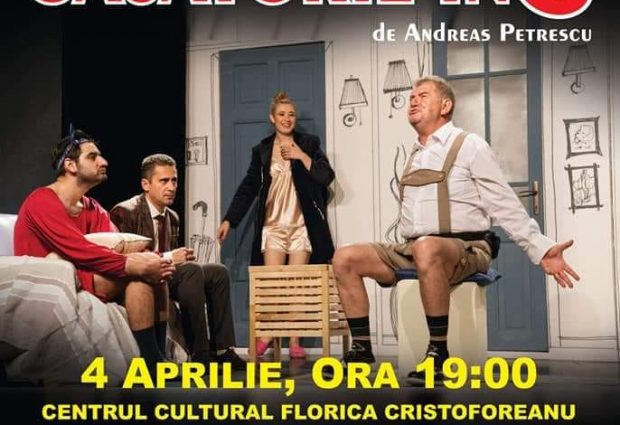 """Centrul Cultural """"Florica Cristoforeanu"""" te invită la teatru!"""