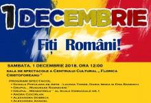 1 Decembrie: Fiți Români!