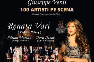 Teatrul Național de Operă și Balet prezintă Traviata, de Giuseppe Verdi