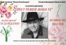 """Spectacolul """"Sărut femeie mâna ta"""", 5 martie, ora 18.00"""