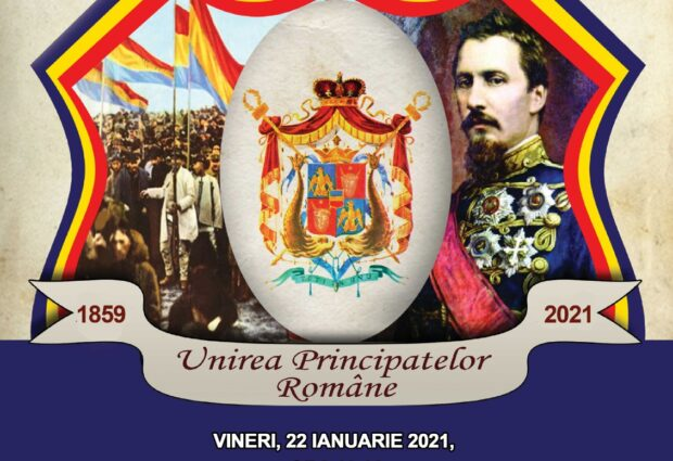 Unirea Principatelor Române – vineri, 22 ianuarie 2021, ora 12.00