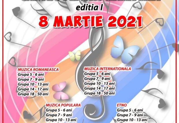FESTIVALUL CÂNTEC PENTRU MAMA, 8 martie 2021